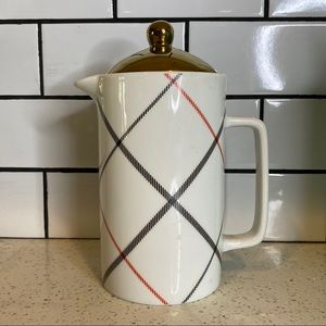 Target Threshold Plaid Ceramic Coffee Carafe